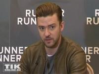 "Justin Timberlake stellt seinen Film ""Runner, Runner"" in Berlin vor"