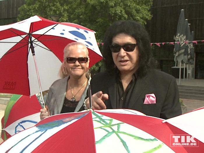KISS-Bassist Gene Simmons und Sheila Lamb