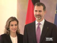 Spaniens König Felipe und und seine Frau Letizia zu Gast im Schloss Bellevue