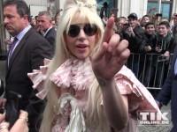 Lady Gaga auf Kuschelkurs mit Berliner Fans