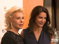 Mariella Ahrens konnte auch Ute Ohoven auf der Lebensherbst-Gala 2015 begrüßen