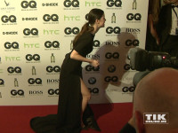 """Lena Meyer-Landrut mit sexy geschlitztem Kleid bei den """"GQ Männer des Jahres Awards 2015"""" in Berlin"""