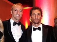 Mario-Max zu Schaumburg-Lippe und Matthew McConaughey