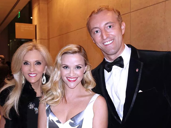 Mario-Max zu Schaumburg-Lippe mit Reese Witherspoon und Dr. Estella Sneider
