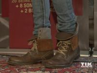 Das Schuhwerk von Matthias Reim