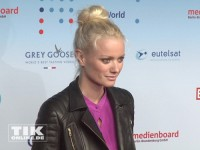 Franziska Knuppe bei der Medianight 2013 in Berlin