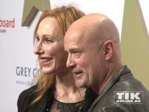 Andrea Sawatzki und Christian Berkel auf der Medienboard Party 2014