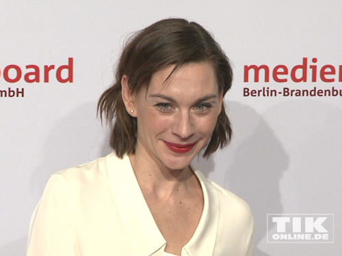 Christiane Paul auf der Medienboard Party 2014