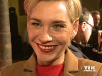 Christiane Paul gehörte zu den vielen prominenten Gästen der Medienboard-Weihnachts-Party 2015 in Berlin