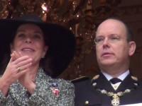 Prinzessin Caroline und Fürst Albert von Monaco