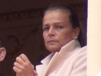 Prinzessin Stephanie schaut am Nationalfeiertag von Monaco 2013 etwas gequält drein
