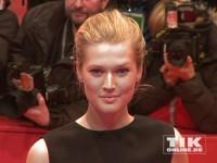"""Model und DiCaprio-Gespielin Toni Garrn auf der Berlinale-Premiere von """"Monuments Men"""""""