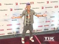 Daniele Negroni auf dem roten Teppich der Music Meets Media 2013