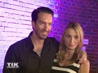 Boss Hoss Alec Völkel mit seiner Freundin Johanna Michels bei den Musikexpress Style Awards 2014