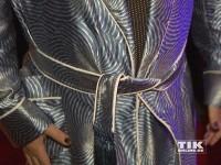 Friedrich Liechtensteins blauer Bademantel, mit dem er zu den Musikexpress Style Awards 2014 erschien