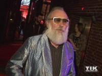 Friedrich Liechtenstein im blauen Bademantel bei den Musikexpress Style Awards 2014