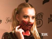 Cheyenne Ochsenknecht gestaltete ihr Halloween-Kostüm ordentlich blutig