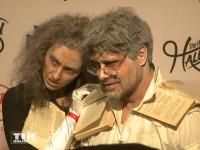 Raphael Vogt mit Freundin Cathrin bei der Halloween-Party von Natascha Ochsenknecht