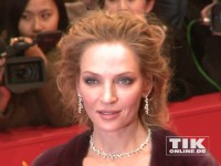 "Hollywood-Star Uma Thurman strahlte auf der Berlinale-Premiere von ""Nymphomaniac"""