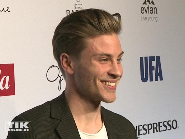 Nachwuchs-Star Jannik Schümann bei der Opening Night Gala der 66. Berlinale