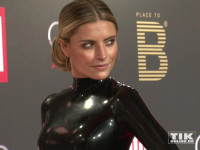 Sophia Thomalla in sexy Latex bei Place-2-B-Party in Berlin