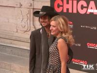"""Stefanie Hertel und ihr Ehemann Lanny Lanner bei der Premiere von """"Chicago"""" im Theater des Westens in Berlin"""
