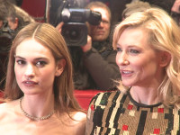 Lily James, Cate Blanchett