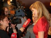 Kate Upton gibt Interviews in München