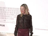 """Eva Hassmann auf der Premiere von """"Honig im Kopf"""""""