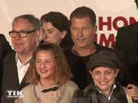 """Til Schweiger, seine Tochter Emma Schweiger und Katharina Thalbach auf der Premiere von """"Honig im Kopf"""""""