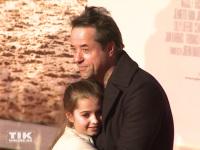"""Jan Josef Liefers und seine Tochter Lilly auf der Premiere von """"Honig im Kopf"""""""