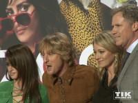 """Penelopé Cruz, Owen Wilson, Christine Taylor und Will Ferrell posieren ausgelassen auf der """"Zoolander 2""""-Premiere in Berlin"""