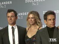 """Justin Theroux, Kristen Wiig und Ben Stiller posieren auf der """"Zoolander 2""""-Premiere in Berlin"""
