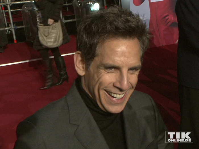 """Ben Stiller gut gelaunt auf der """"Zoolander 2""""-Premiere in Berlin"""