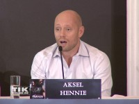 """Aksel Hennie auf der """"Hercules""""-Pressekonferenz in Berlin"""