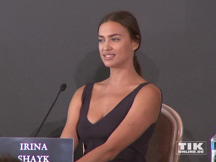 """Irina Shayk auf der """"Hercules""""-Pressekonferenz in Berlin"""