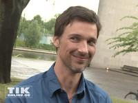 Florian David Fitz hat trotz Regens gute Laune beim Produzentenfest 2014