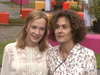 Katja Flint und Marie-Lou Sellem beim Produzentenfest 2014