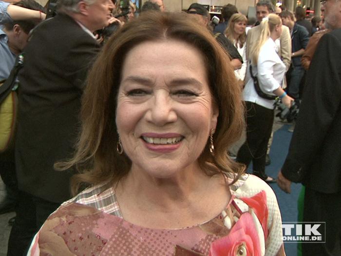 Hannelore Elsner gehörte zu den prominenten Gästen beim Produzentenfest 2015