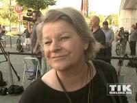 Angela Merkel konnte zahlreiche Prominente zu ihrem 60. Geburtstag begrüßen, unter anderem auch Beate Wedekind