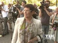 Rita Süssmuth erschien ebenfalls zum 60. von Angela Merkel