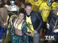 Fernanda Brandão und Guido Maria Kretschmer im Pokal-Final-Fieber
