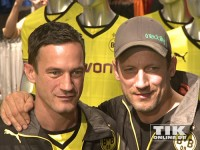 Sönke und Wotan Wilke-Möhring sind eingefleischte BVB-Fans