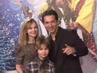Andreas Elsholz, Ehefrau Denise Zich & Sohn Julius