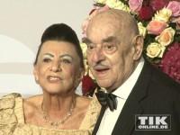 Atze Brauner und Ehefrau Maria beim Rosenball 2014