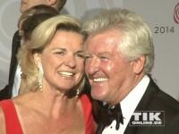 Hera Lind und Ehemann Engelbert Lainer beim Rosenball 2014