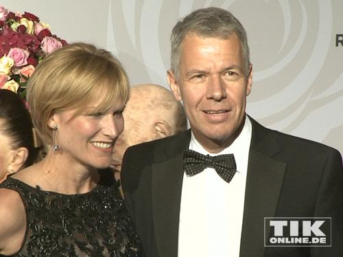 Peter Klöppel Mit Ehefrau Carol Tikonlinede