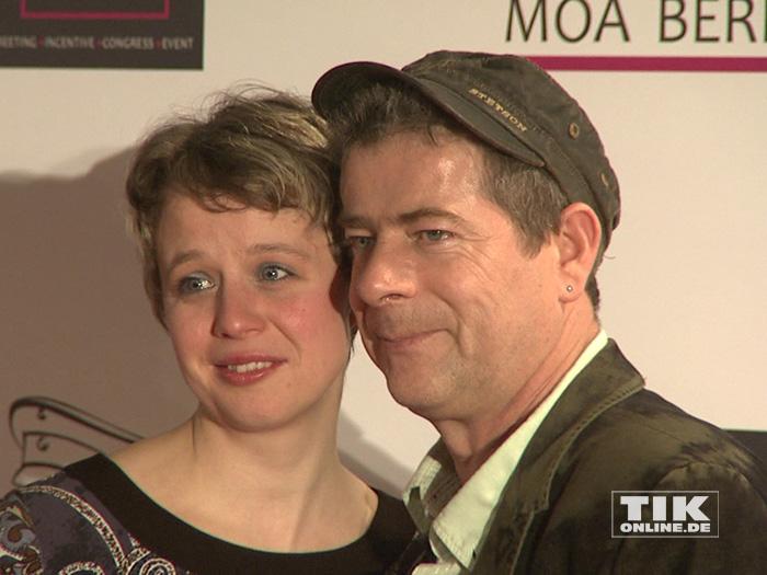 Michael Hirte undMichael Hirte und seine Frau Jenny seine Frau Jenny
