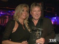 Bernhard Brink und seine Ehefrau Ute bei den Smago Awards in Berlin
