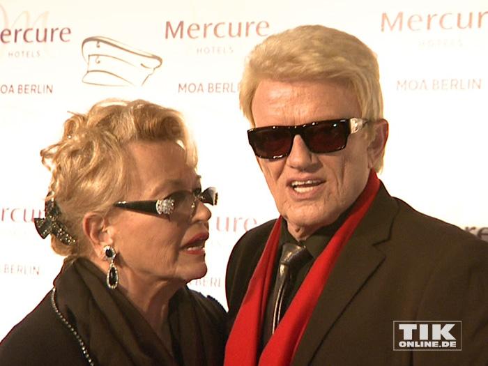 Auch Heino und seine Ehefrau Hannelore waren unter den Star-Gästen der Smago Awards in Berlin